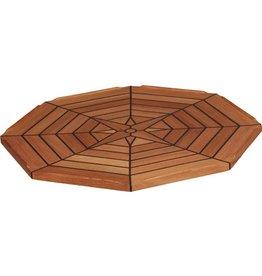 EUDE Teak-Tischplatte Ø 55cm