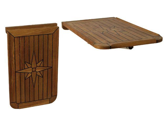 EUDE Teak-Tischplatte 38x60cm
