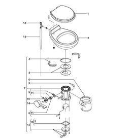 Sealand Sealand Vacuum WC 509- Ersatzteile