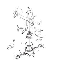 Sealand Ersatzteile Sealand Pumpe S/T