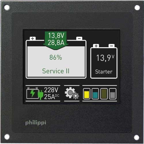 Philippi Batteriemonitor BTM