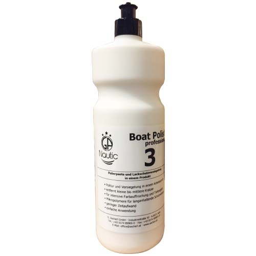 GA nautic Boat Polish 3 professional