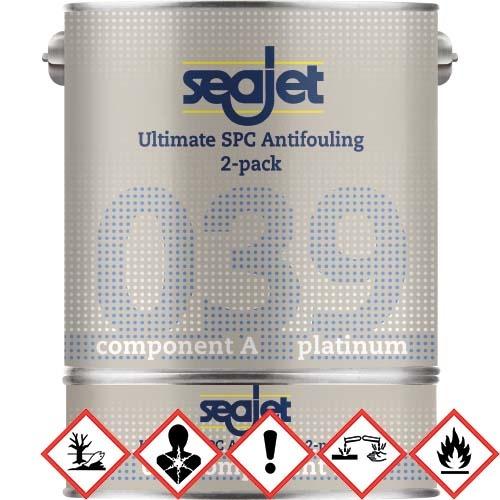 Seajet Seajet Platinum Antifouling 039 2 Liter blau
