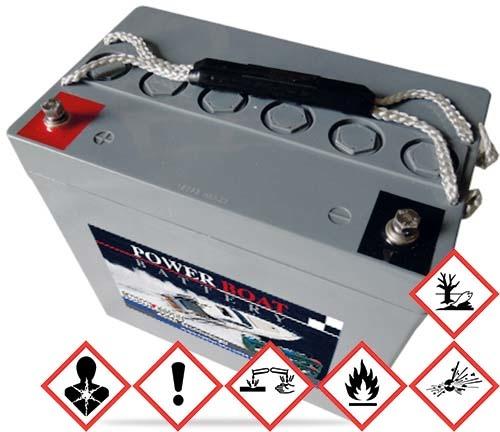 BatterySupplies Marine-Batterie AGM