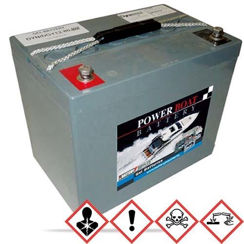 BatterySupplies Marine-Batterie Gel