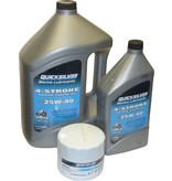 Mercruiser MerCruiser Motoröl Set mit Ölfilter