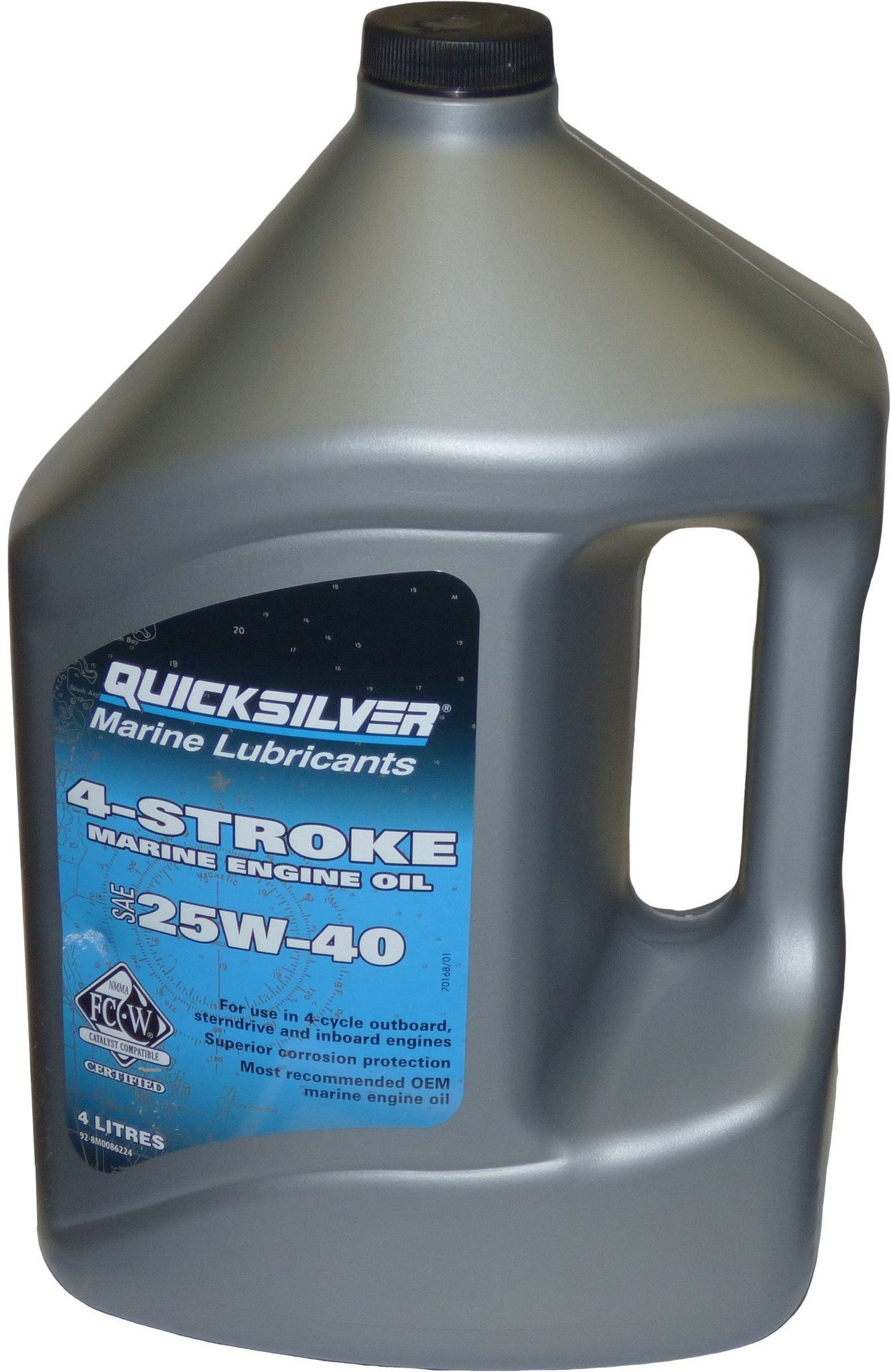 Mercruiser Mercruiser Motoröl 25W-40 4 Liter