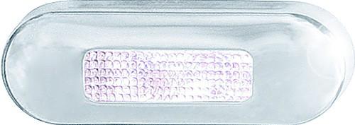 Hellamarine LED Stufenleuchte asymmetrisch