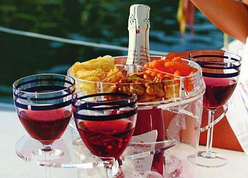 Marine Business Party Champagner-Kübel