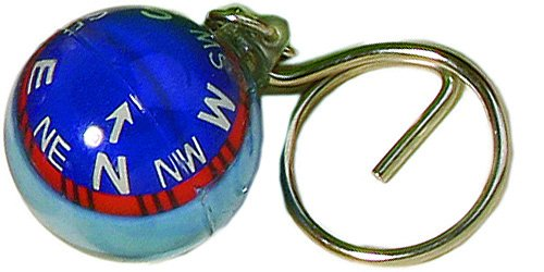 Schlüsselanhänger Kompass