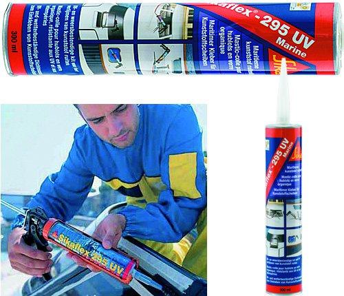Sika Sikaflex 295 UV (Kleben von Kunststoffscheiben)