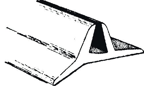 Scheibenunterlageprofil