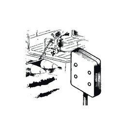 Motorhalterung Heckkorb