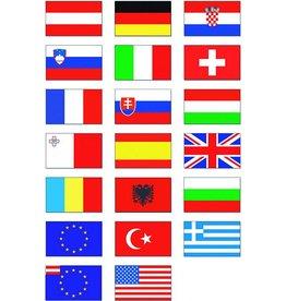 Nationalflagge 30 x 20 cm