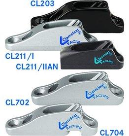Clamcleat Klemme mit Leitösen (bis 6 mm)