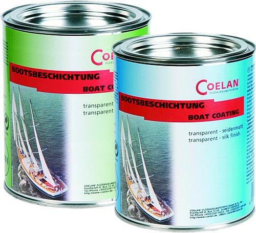 Coelan Bootsbeschichtung transparent