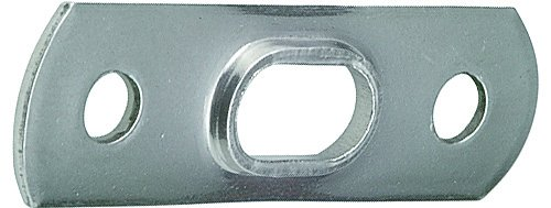 Blue Wave Mastplatte für T-Terminal Niro