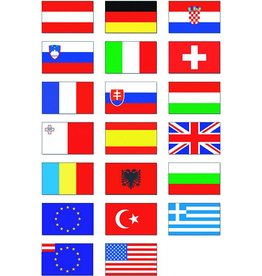 Nationalflagge 80 x 50 cm