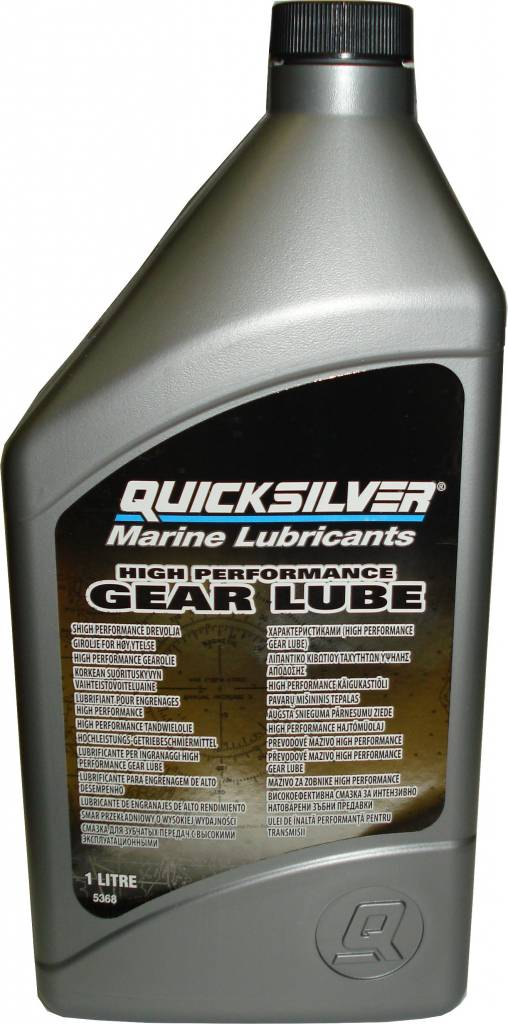 Mercruiser MerCruiser HIGH PERFORMANCE Getriebeöl, für alle Antriebe, 1 Liter