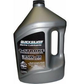 Mercruiser MerCruiser 4 Cycle Synthetic Blend Motoröl 4 Liter