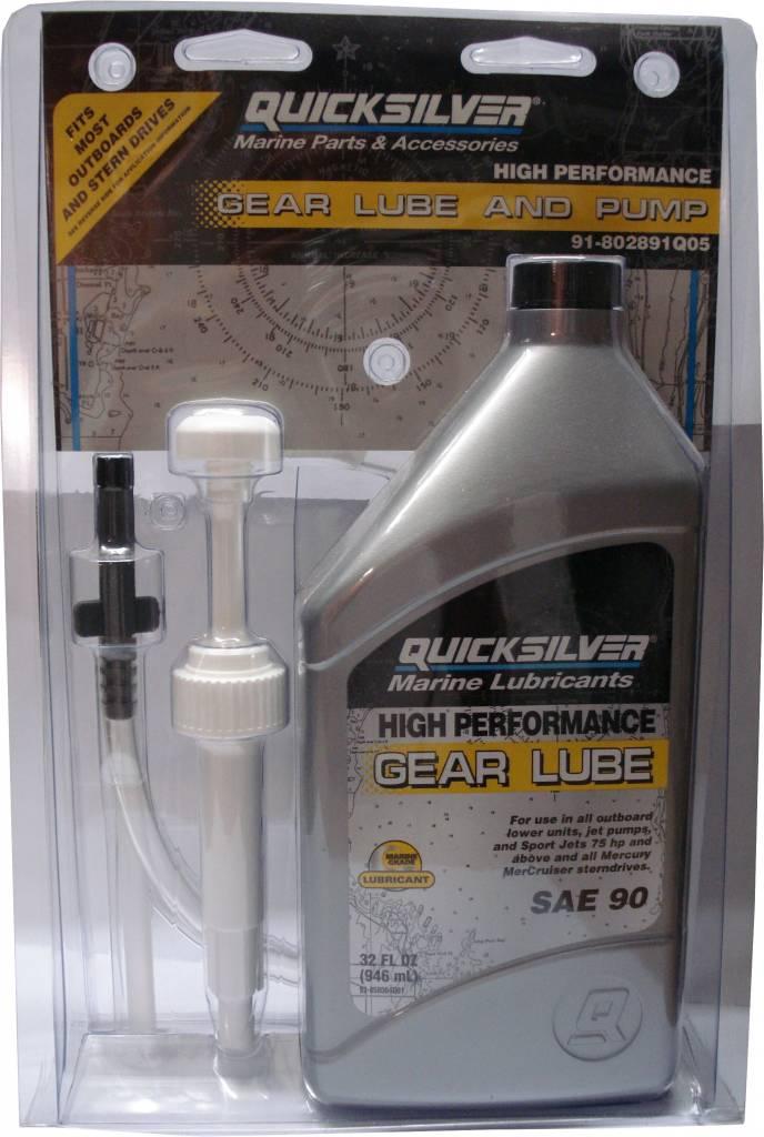 Mercruiser MerCruiser HIGH PERFORMANCE Getriebeöl, für alle Antriebe, 946mLmit Pumpe