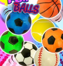 Ballon de sport de 10cm par 6 pièces