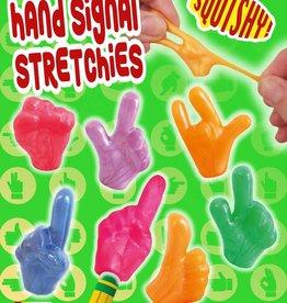 Signaux de la main par 24 pièces