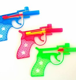 Plof speelgoed pistool per 24 stuks