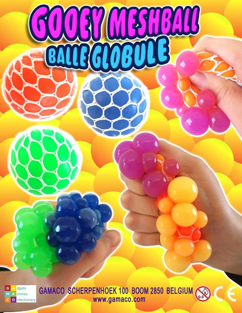 Squishy ball per 12 stuks