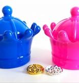Boîte à bijoux avec bague par 12 pièces