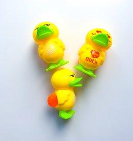 Terugtrek speelgoed  'Eend' per 12 stuks