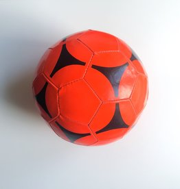 Bal in imitatieleder size 5 - per 6 stuks, niet opgeblazen / met handpomp