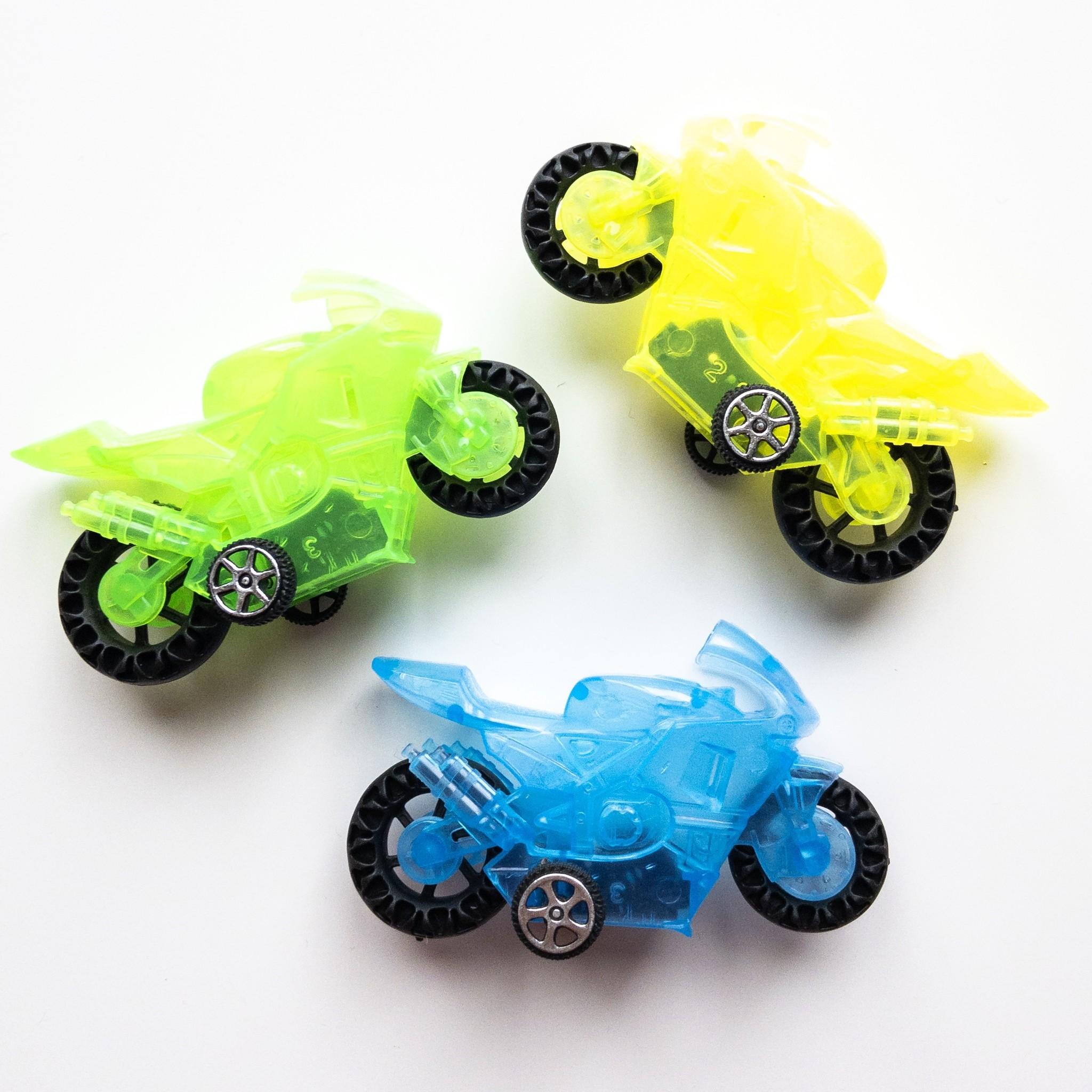 Pullback Motorfiets per 12 stuks