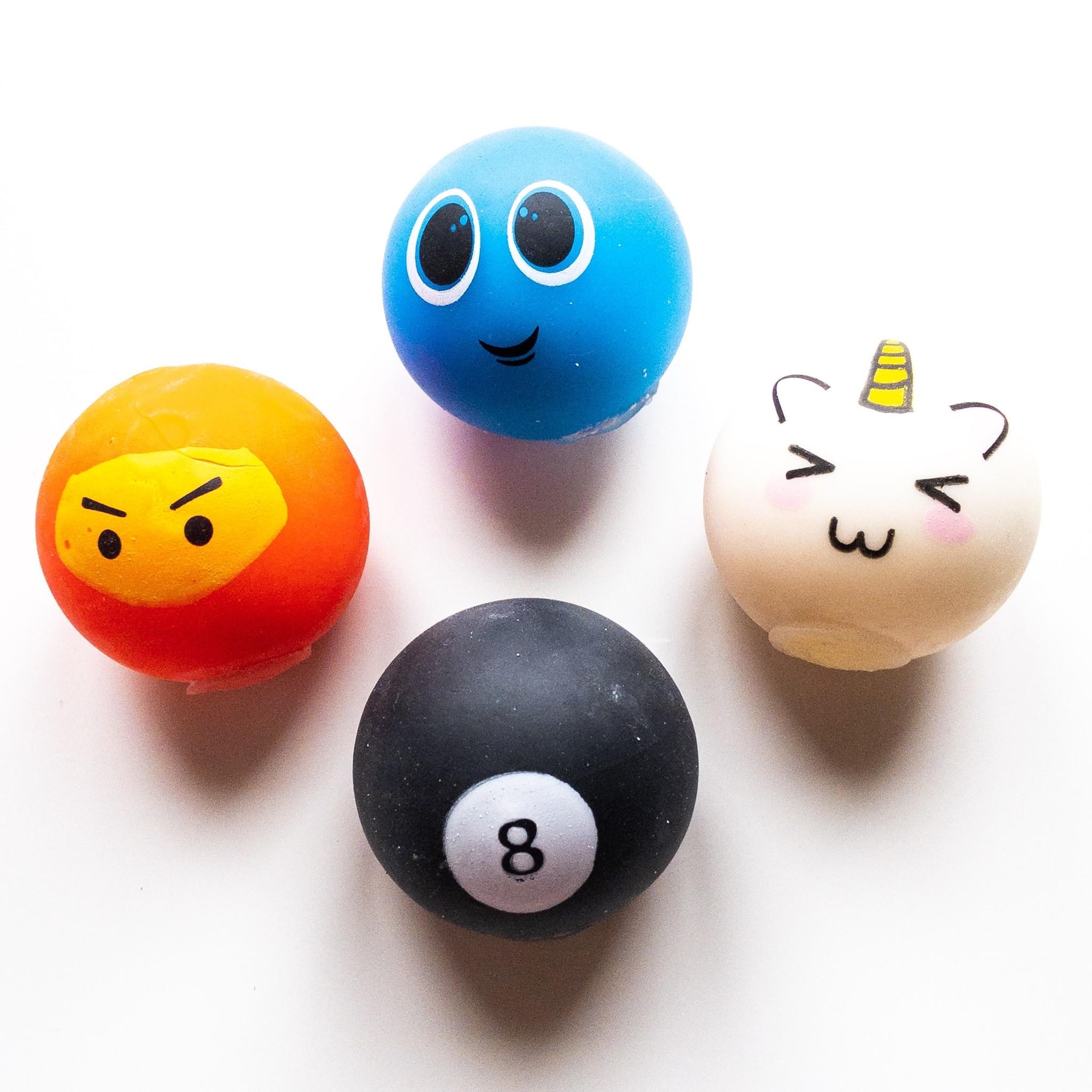 Relax Balls Funny Foam par 12 pièces