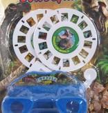 Retro view camera met verwisselbare fotokaarten