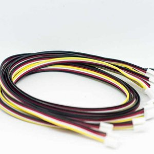 Universal 4 pin buckled 30cm Cable (5pcs.)