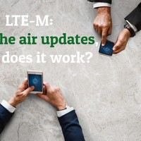 LTE-M Over the Air Updates, How Does It Work?