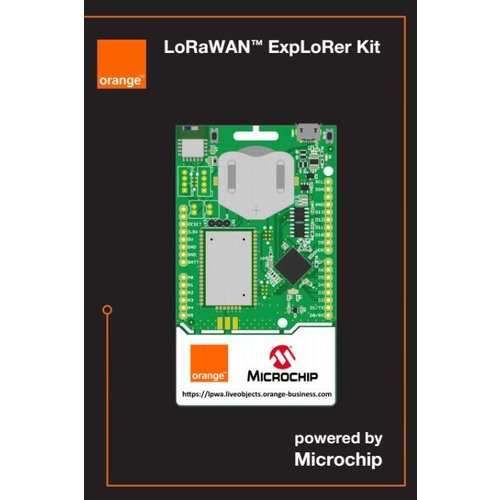 Orange LoRa Edition - The SODAQ LoRa® ExpLoRer DevKit EU868