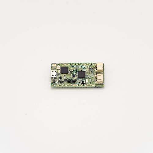 SODAQ SARA Small Form Factor (SFF) R412M including PCB Antenna, GPS Antenna, and Battery