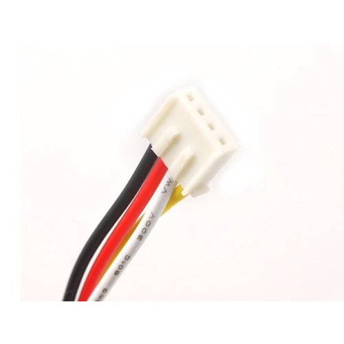 Universal 4pin Buckled cable 5cm (5pcs.)