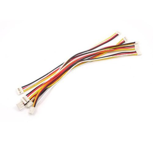 Universal 4 pin Unbuckled Cable 20cm (5pcs.)