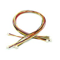 Universal 4 pin buckled 40cm cable (5pcs.)