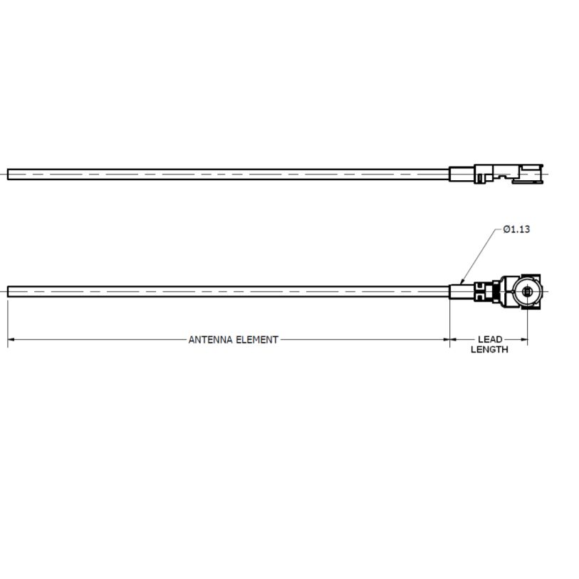 Anaren 868 MHz antenna