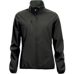 Dames softshell jas Clique zwart