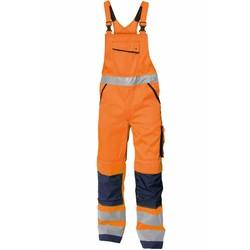 Reflecterende overall Dassy oranje