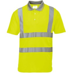 High-visibility poloshirt geel Portwest