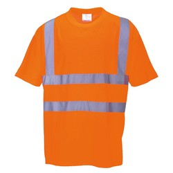 High Vis t-shirt Oranje