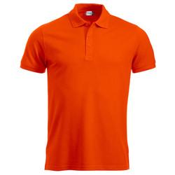 Poloshirt Clique Manhattan Fluor oranje
