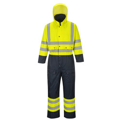 High-visibility gevoerde overall Sale