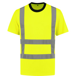RWS T-shirt high-visibility geel